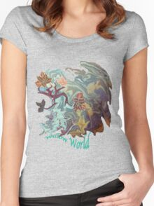 Willow World. Women's Fitted Scoop T-Shirt
