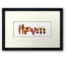 IIFYM Framed Print
