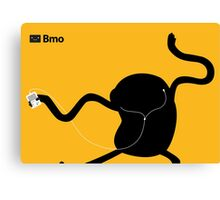 Adventure Time Bmo's Campaign (Apple iPod Parody). Jake Version. Canvas Print