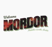 Welcome to Mordor Kids Clothes