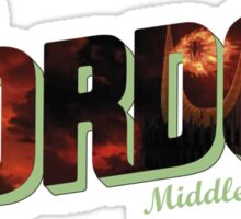 Welcome to Mordor Sticker