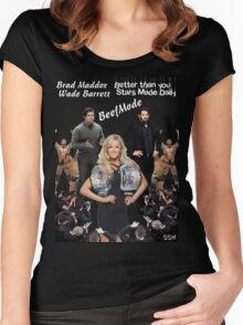 SSW Beef Mode T-Shirt Women's Fitted Scoop T-Shirt