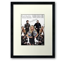 SSW Beef Mode T-Shirt Framed Print