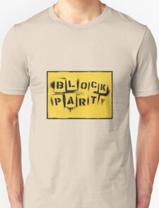 block party Unisex T-Shirt