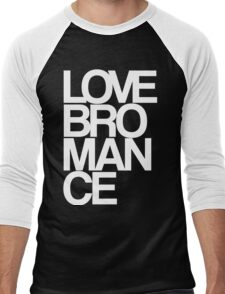 Love Bromance (white) Men's Baseball ¾ T-Shirt