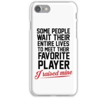 My Favorite Player iPhone Case/Skin