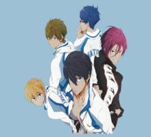 Free! Iwatobi Swim Club by amyCrysatlz