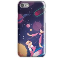 S P A C E • G I R L iPhone Case/Skin