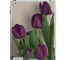 The Beauty of Purple Tulips iPad Case/Skin