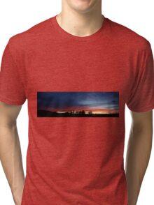 I'll watch you till you settle. Tri-blend T-Shirt