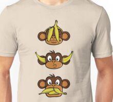 See no evil, hear no evil, speak no evil Unisex T-Shirt