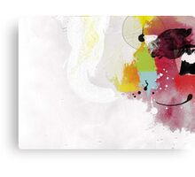 Untitled 1 Abstract Contemporary Canvas Print