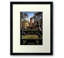 The Soul Harvest Framed Print