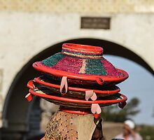 Baskets to the Market in Harar, Ethiopia by Dave Cole
