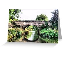 Tiverton Canal Greeting Card