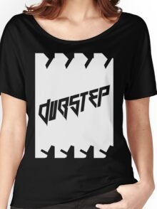 DUBSTEP (VICTORY) WHITE Women's Relaxed Fit T-Shirt