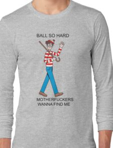 Waldo Long Sleeve T-Shirt