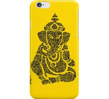 Ink Rain Ganesha iPhone Case/Skin