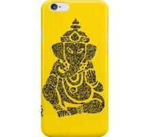 Ink Rain Ganesha iPhone Case/Skin