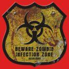 Warning Shield by David Naughton-Shires