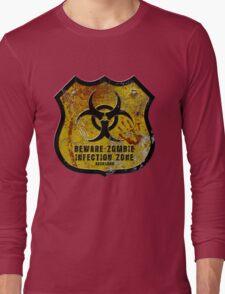 Warning Shield Long Sleeve T-Shirt