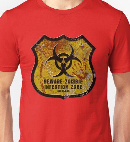 Warning Shield Unisex T-Shirt