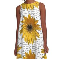 He Loves Me - He Loves Me Not A-Line Dress
