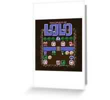Lolo Adventures Greeting Card