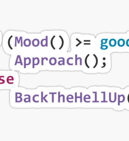 developer mood Sticker