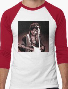 Jimi Hendrix Men's Baseball ¾ T-Shirt