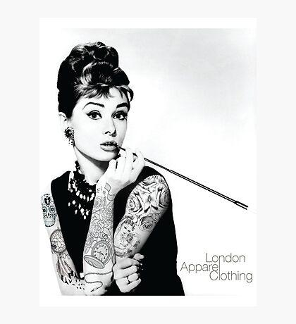 Hepburn Ink'd Photographic Print