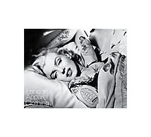 Monroe Ink'd Photographic Print