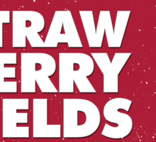 Strawberry Fields Forever T-shirt Sticker
