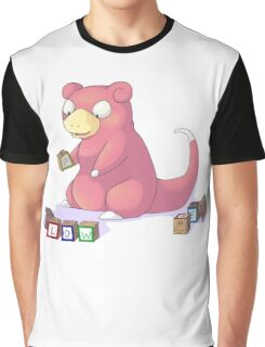 Pokemon Slowpoke Graphic T-Shirt