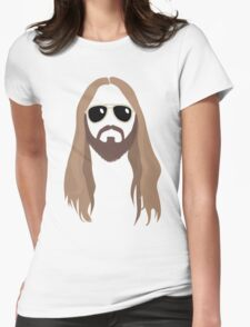 Jared Leto #Faith Womens Fitted T-Shirt