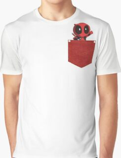 Deadpool in Your Pocket! Graphic T-Shirt
