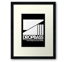 DropBass Logo (New) Framed Print