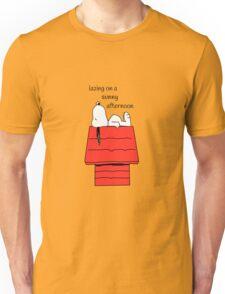 Snoopy - lazing Unisex T-Shirt