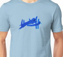 Blue abstract Unisex T-Shirt