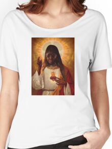 CupcakKe as Jesus Women's Relaxed Fit T-Shirt