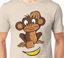 Confused monkey Unisex T-Shirt
