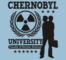 Chernobyl University Nuclear Science T-Shirts and Hoodies by TropicalToad