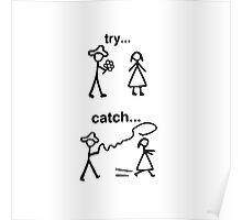 Try and catch Poster