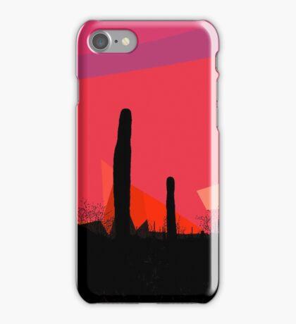 Desert Sunset In Tucson iPhone Case/Skin