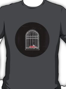 Living & Dying in a Cage T-Shirt