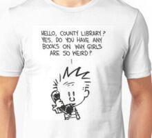 Calvin and Girls Unisex T-Shirt