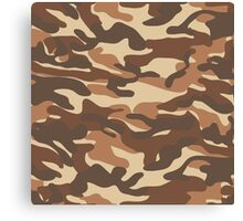 Military camouflage pattern 7 Canvas Print