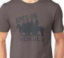 Apes on Tee-horses Unisex T-Shirt