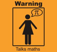 Warning: Talks maths (skirt) by Sophie Baer