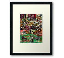 Franco Master  Framed Print